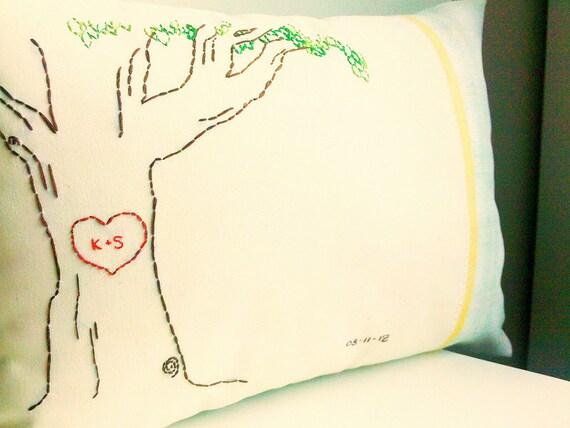 Custom Monogrammed Pillow
