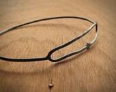 Handmade Sterling Silver Cellular Bangle Bracelet