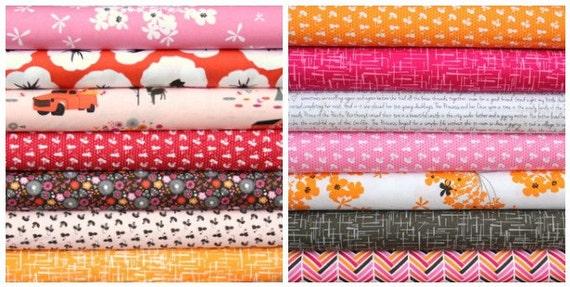 Madrona Road half yard bundle--14 pieces---7 yards total--Violet Craft for Michael Miller Fabrics