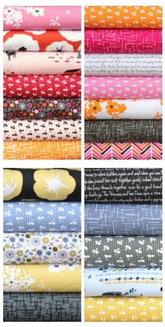 Madrona Road fat quarter bundle--24 pieces---6 yards total--Violet Craft for Michael Miller Fabrics