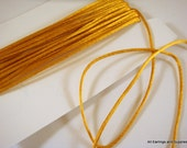 BOGO - 15ft Gold Satin Cord 1mm Bugtail - 5 yds - STR9066CD-GD15 - Buy 1, Get 1 Free - No coupon required