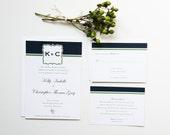 Modern Wedding Invitation Sample