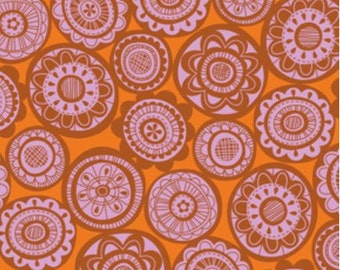 Erin McMorris Summersault Cartwheel Blush Sewing Fabric By the Yard, 1 yard