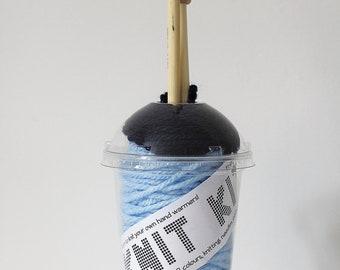 Knit Kits - Adult Fingerless Gloves