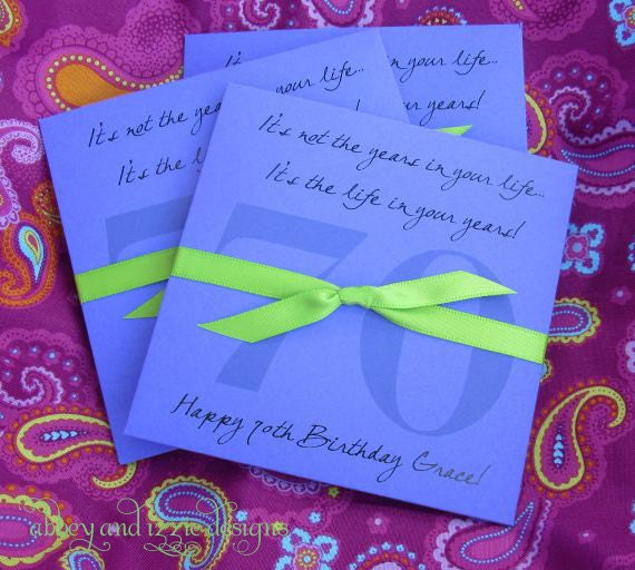 Birthday Party Quotes For Adults: 70th Birthday Party