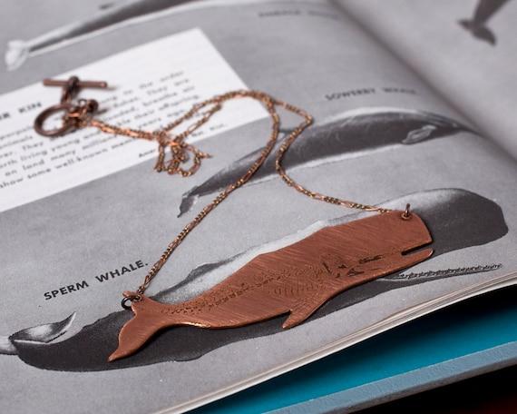 Whale Skeleton Necklace, Show Your Bones