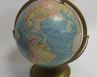 Vintage World Scope O Sphere Globe