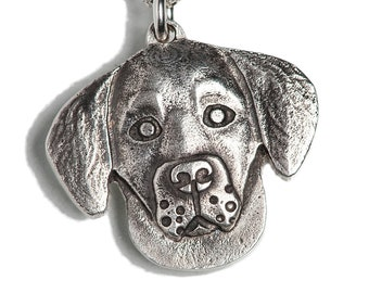 Golden Retriever Necklace Jewelry Sterling Silver Dog Pendant Personalized