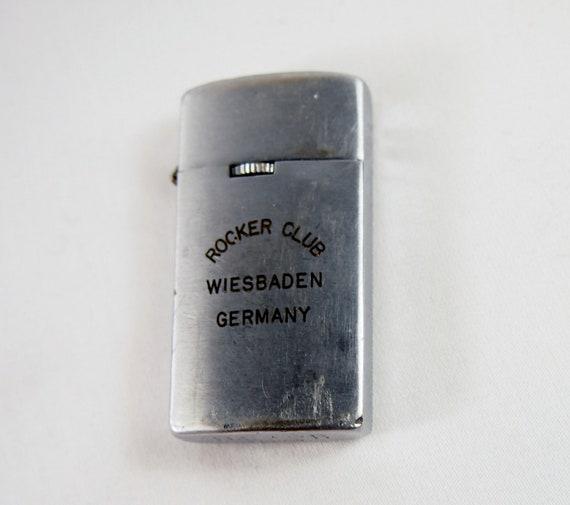 Rocker Club Wiesbaden Germany 50s 60s Nesor Japan Lighter