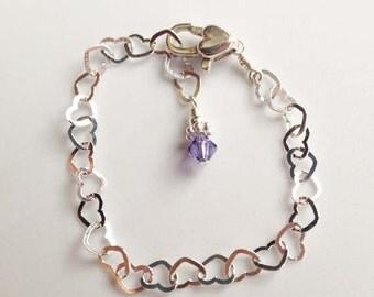 Sterling Silver Bracelet or Anklet