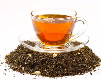Tea Teabags 25 Chai black Hand Blended tea in tea bags with a beautiful gift tin