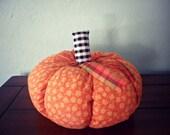 Large Orange Pumpkin