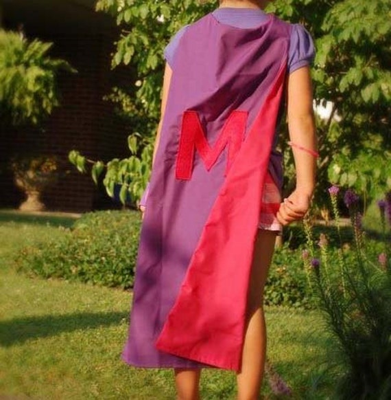 Personalized Children's Superhero Cape - Girl Colors