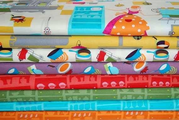 Happy days fat quarter bundle 8SKU