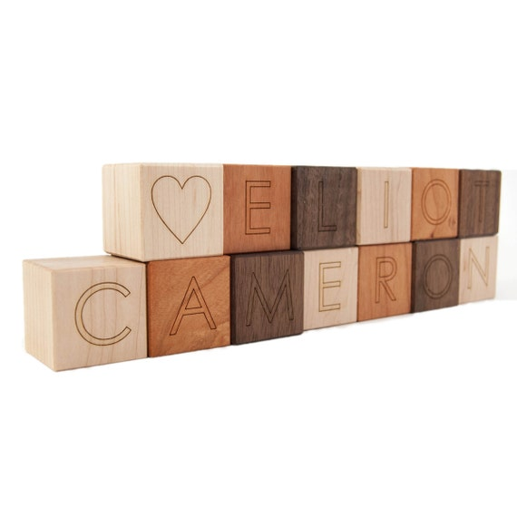 wooden letter blocks unavailable listing on etsy 25672 | il 570xN.367923799 kese