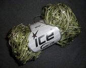 Variegated Olive Green Wings Ice Yarns 2 skeins