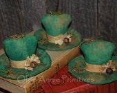 EPATTERN -- St. Patrick's Day Leprechaun Hat Tucks Ornies Bowl Fillers