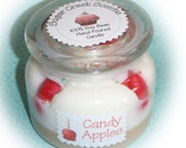 Candy Apple Scented Soy Bean Bakery Style Candle