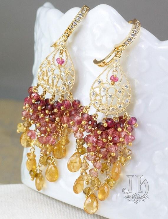 RESERVED for J. ... Marie earrings