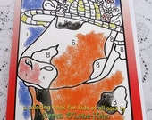 Coloring Book, Color by Number, Cows, Original Art, Children, All Ages, New Lower Price