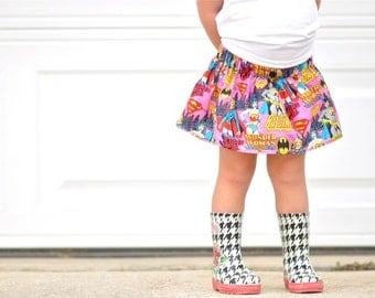 Girl Power Skirt baby - Toddler - CUSTOM