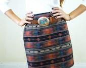 BLACK FRIDAY SALE High Waist Tribal Printed Skirt