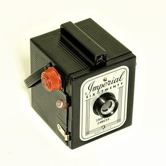 Vintage Camera - Imperial Six-Twenty - 620 - Snapshot Camera - Box Camera