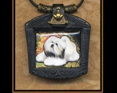 Havanese dog necklace