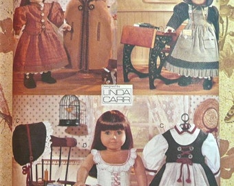 Linda Carr American Girl Doll Outfits Pattern - Vogue 9641