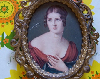lovely lady from italy wall art