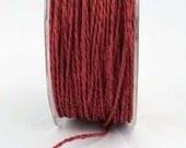 CLEARANCE - Paper Cord in Red - 5 Yd Bundle