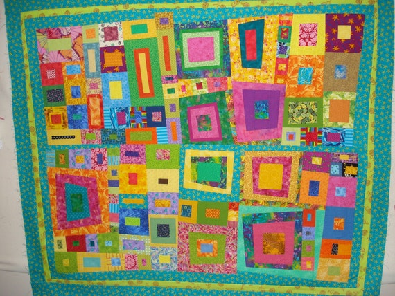 Organized Chaos II quilt top only