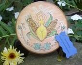 Made to Order Grain Goddess  Lughnasadh Altar Tile