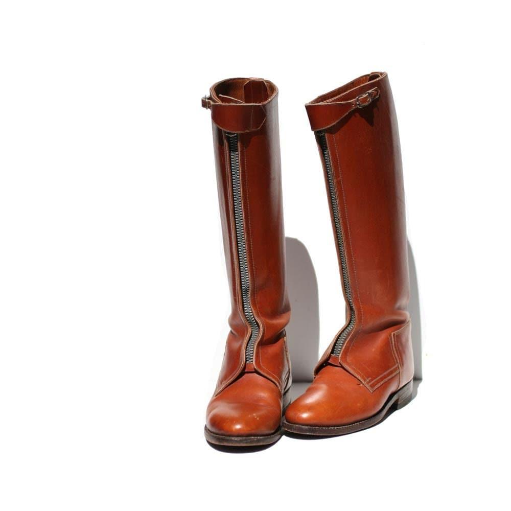 Vintage la casa de las botas equestrian riding boots size - La casa vintage ...