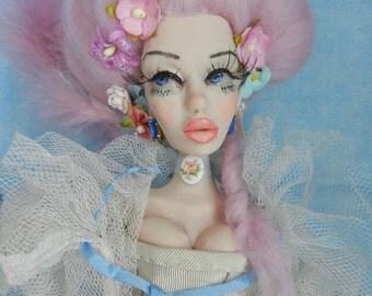 Custom Posable Art Doll by Moninesfaeries