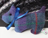 Wee Scottie - Purple Plaid