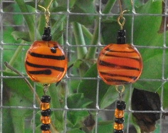 Tiger Tail Earrings