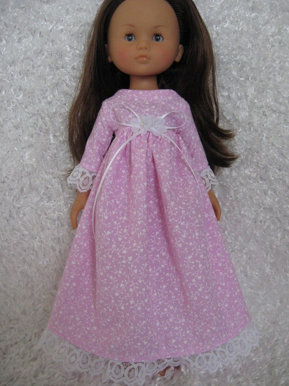 1800 Style Pink Dress for Corolle Les Cheries, Groovy Girl or Hearts for Hearts Girls
