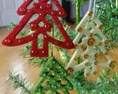 Christmas Tree Christmas Ornament or Gift Tags Hostess Gift Teacher Gift