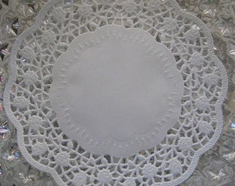 Made In Germany 15 Fancy Paper Lace Doilies Doily 6 Inch  GD 403