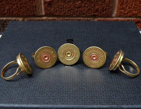 Wholesale Priced Shotgun Shell Ring Assortment Handcrafted By