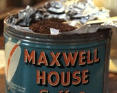 1940s Maxwell House Coffee Tin Can