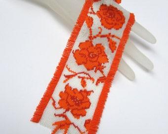 Tangerine Rose Tango Cuff Bracelet