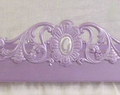 Bed crown with tie backs  style,  Ballerina style