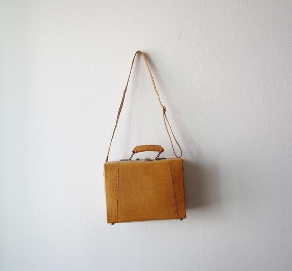 Vintage Leather Case Shoulder Bag