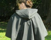Custom Cotton Twill Capelet  Archer SCA LARP Renaissance