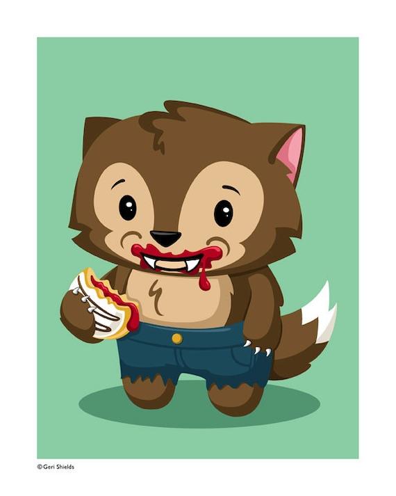 Nice werewolf - photo#29