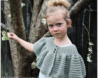 Download Now - CROCHET PATTERN - Austen Capelet - Sizes Baby to Ladies X L - Pattern PDF