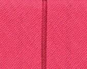 Wrights Double Fold Bias Tape- 1/2''W x 3yds 206 022 Bright Pink Fushia