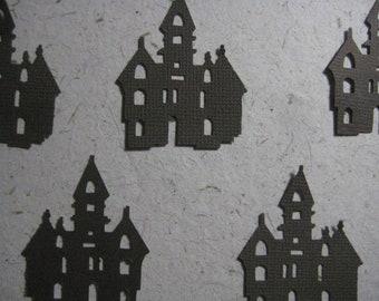 Haunted Church House Die Cuts